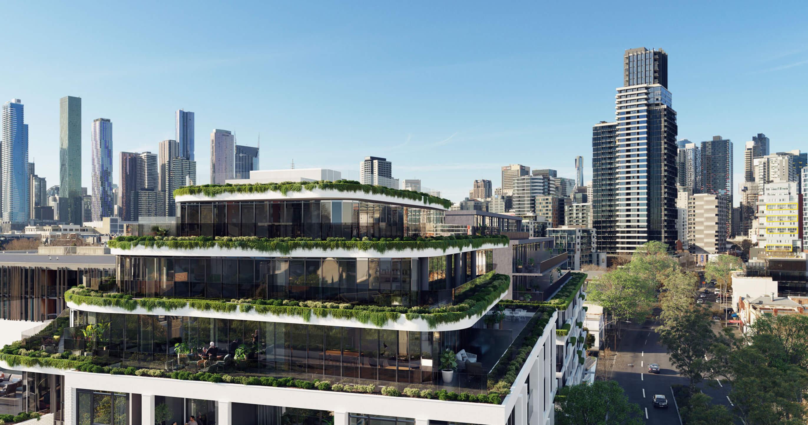 Penthouse Facade